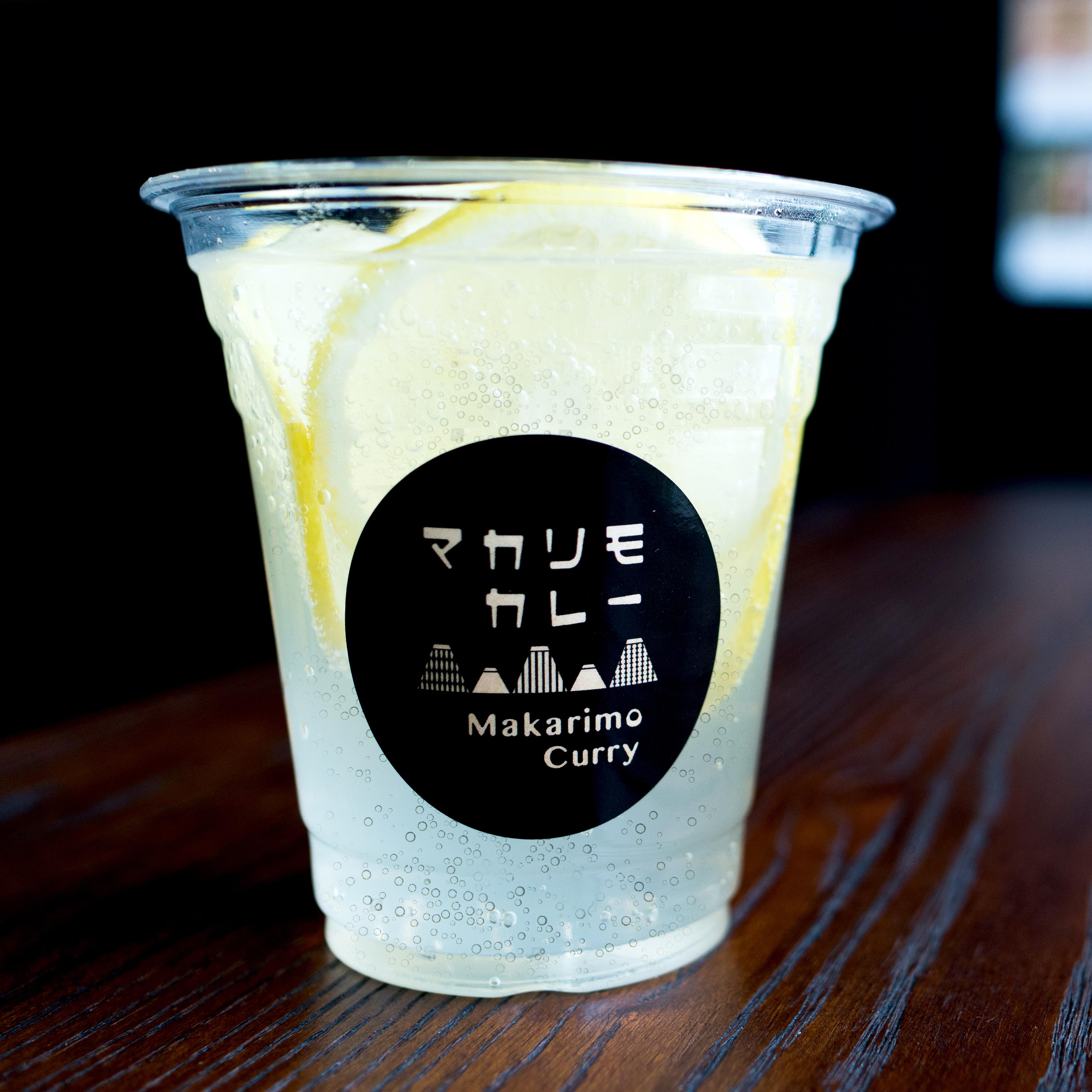 [ サイドメニュー ] ライチ レモンソーダ / Salty lychee lemon soda / 荔枝檸檬氣泡