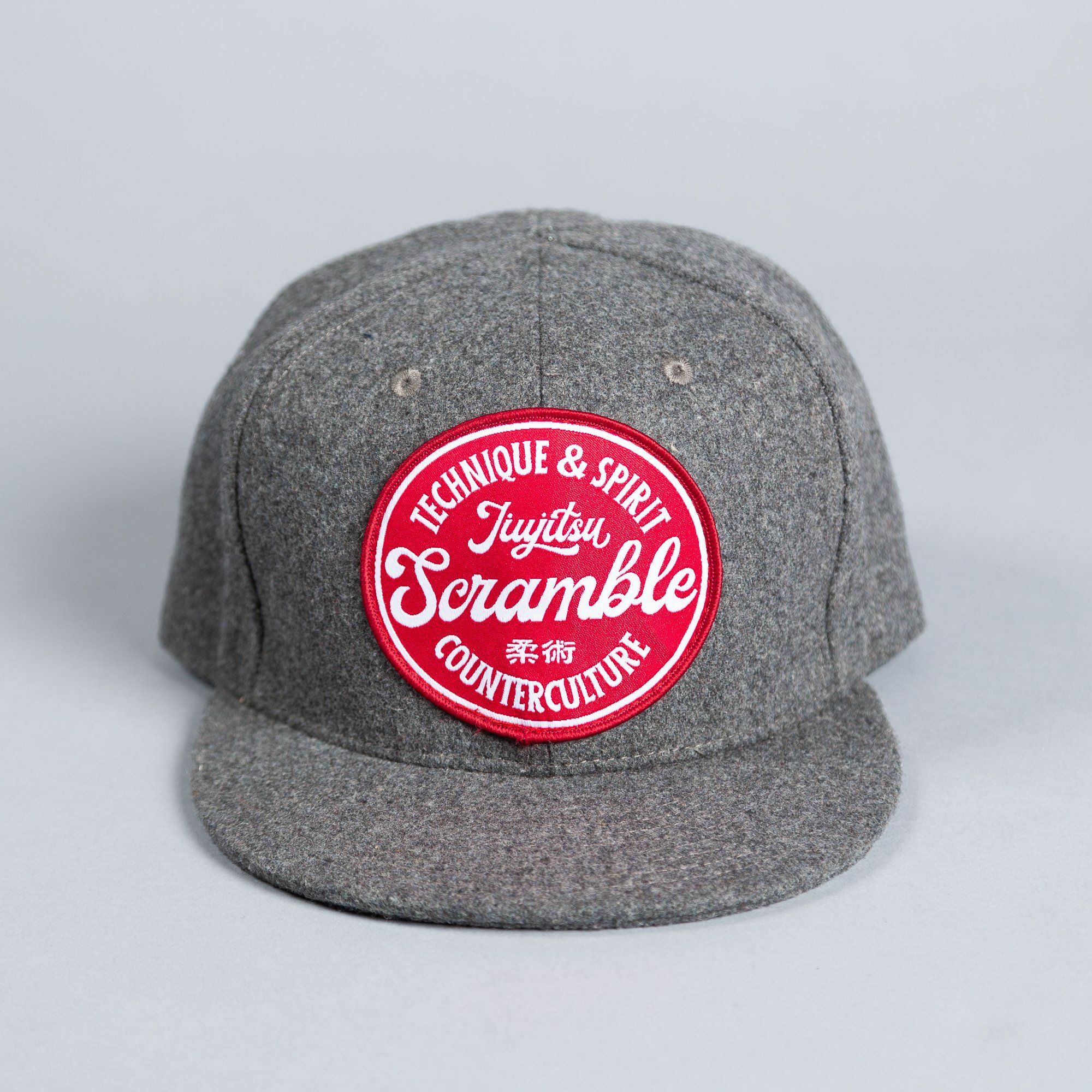 SCRAMBLE TECHNIQUE & SPIRIT TRUCKER HAT – グレイ|帽子