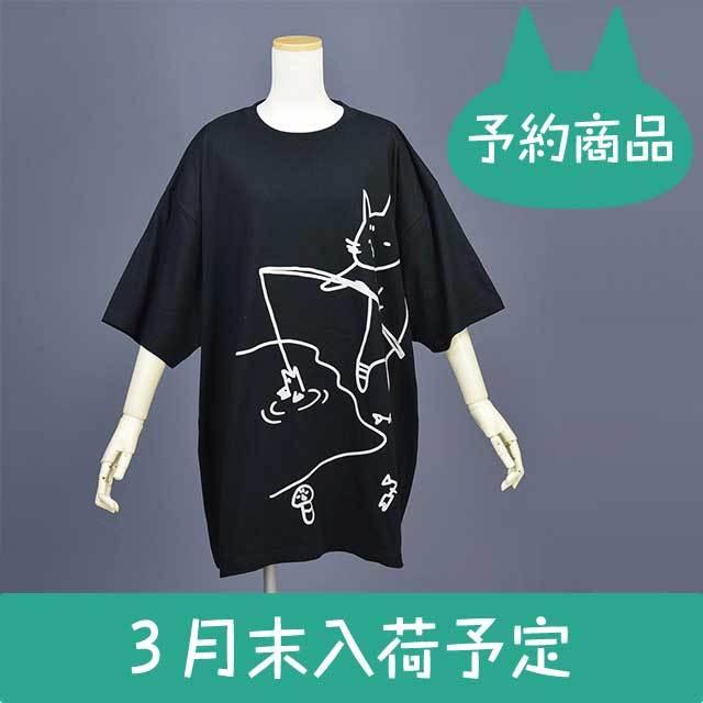 釣りビッグT-SH(受注商品)BK/F