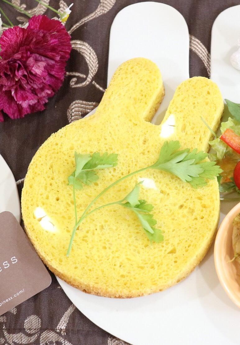 チーズカレーうさぎ食パン