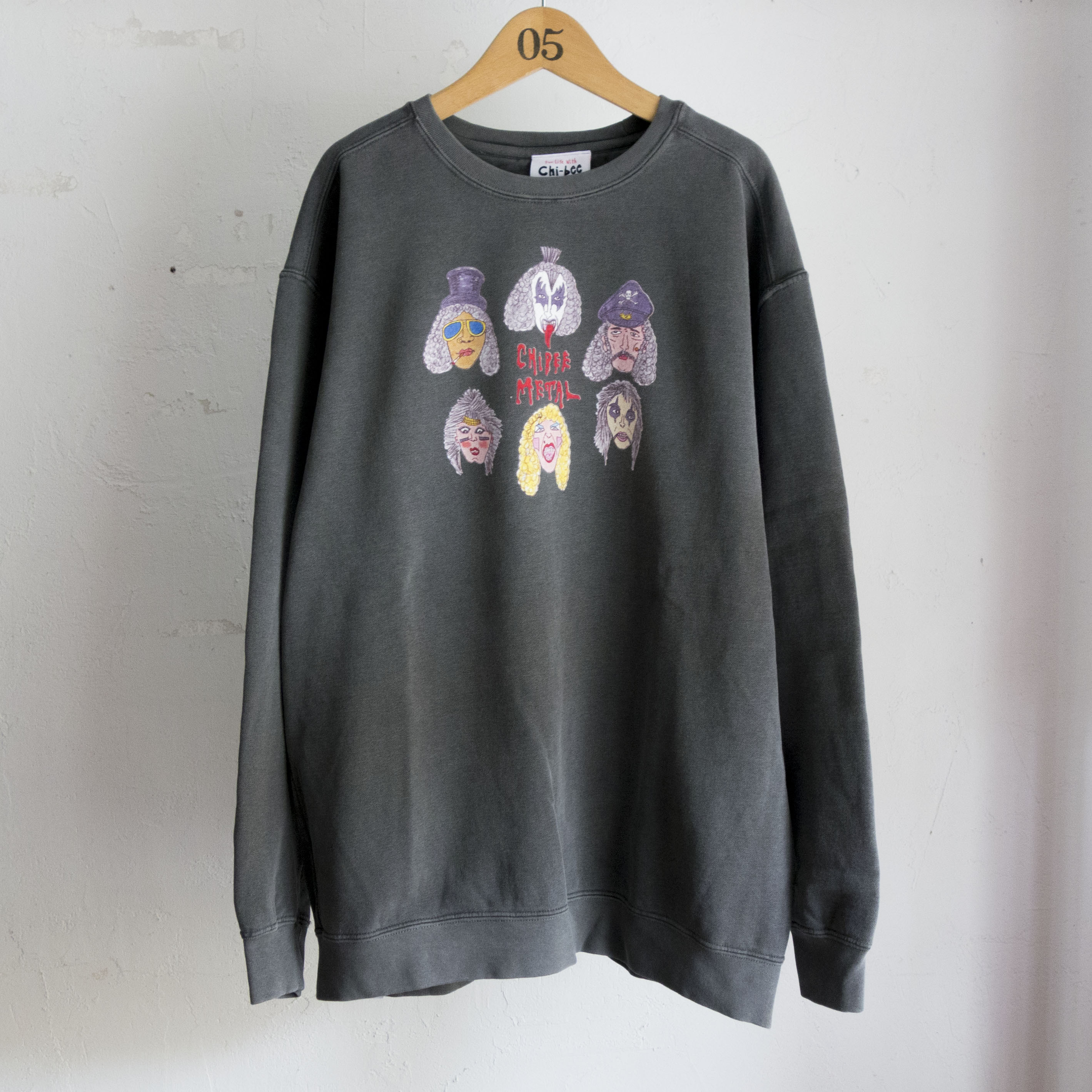 Chi-bee Chi-bee Metal2 Sweat(間もなく完売)