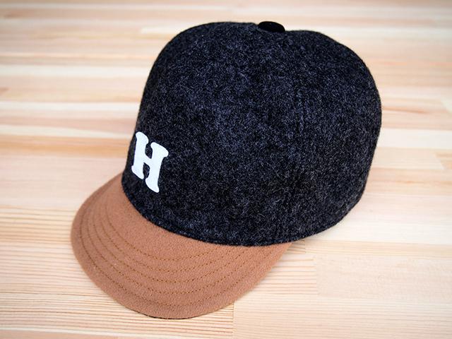 """ウール ベースボールキャップ 56㎝""""WOOL BASE BALL CAP""""(GRAY """"H"""" 56)"""