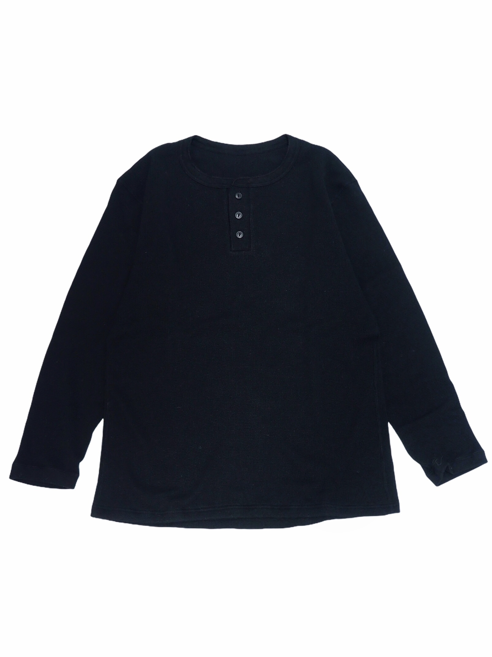 【着もちいい服】F/W FACE THERMAL H/N L/S T-SHIRT