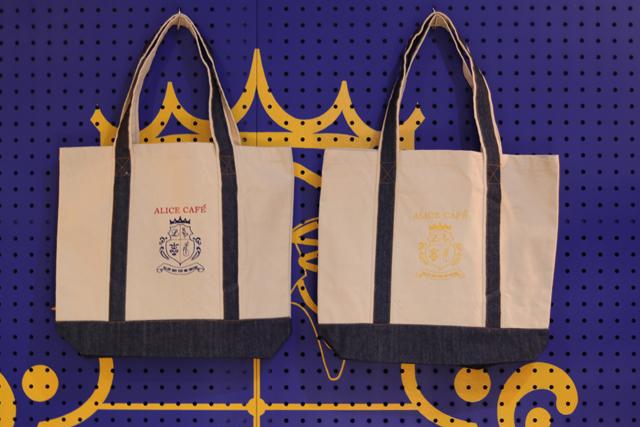 オリジナルデニム刺繍トートバッグ