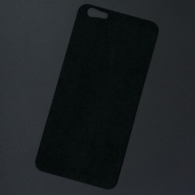 iPhone 7バックプレート アルカンターラ ブラック