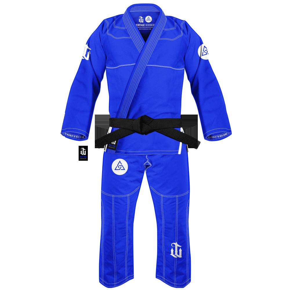WAR TRIBE GEAR S.D.U. HERITAGE GI ブルー|ブラジリアン柔術衣