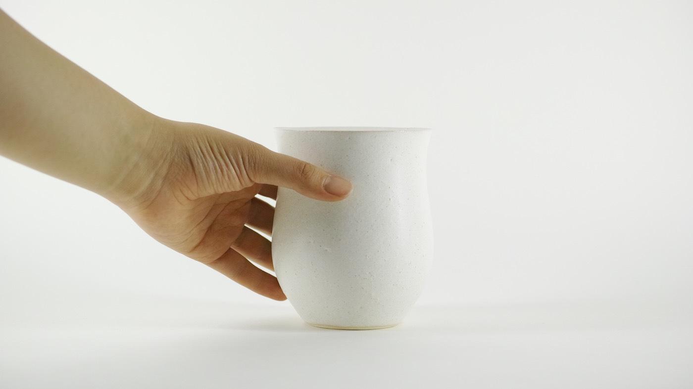 HAKUHA studio・005wt/M-size -植木鉢-