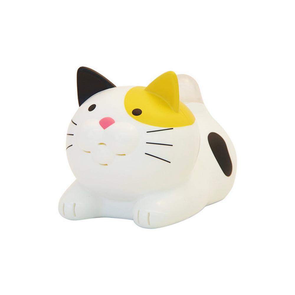 猫おしゃべり温湿度計(にゃんこ計)ミケネコ