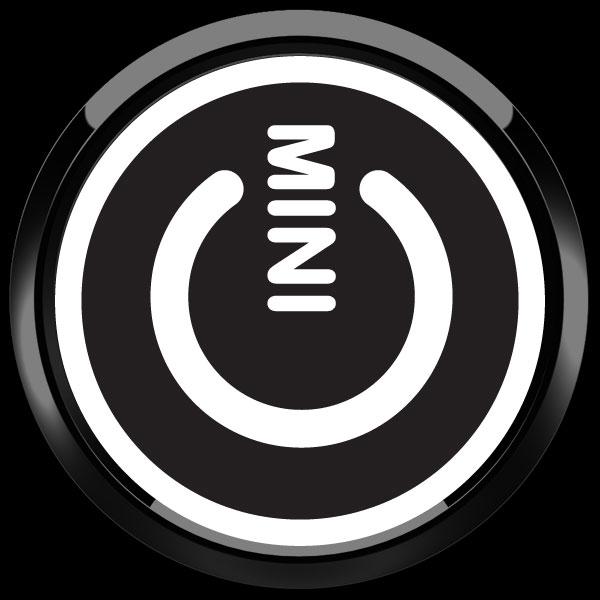ゴーバッジ(ドーム)(CD1022 - MINI POWER BLACK) - 画像2