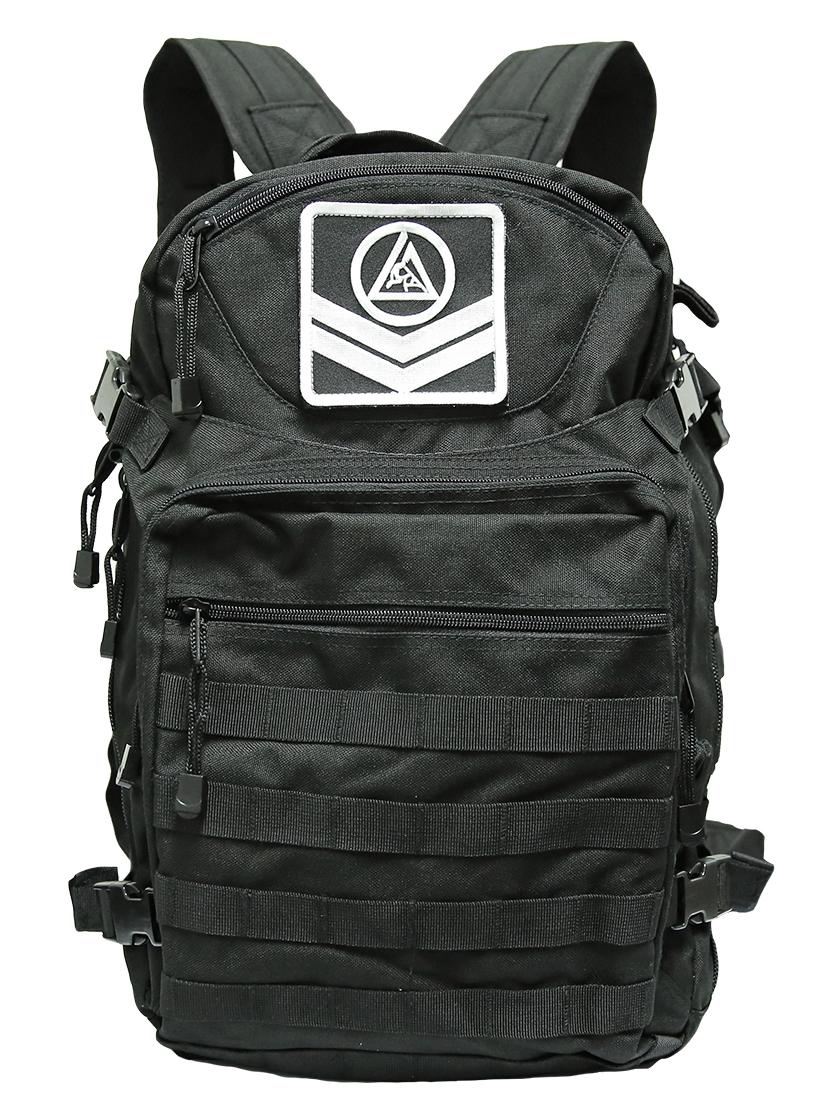 予約注文受付中!送料無料!グレイシー  Venture Tactical タクティカル バックパック 黒