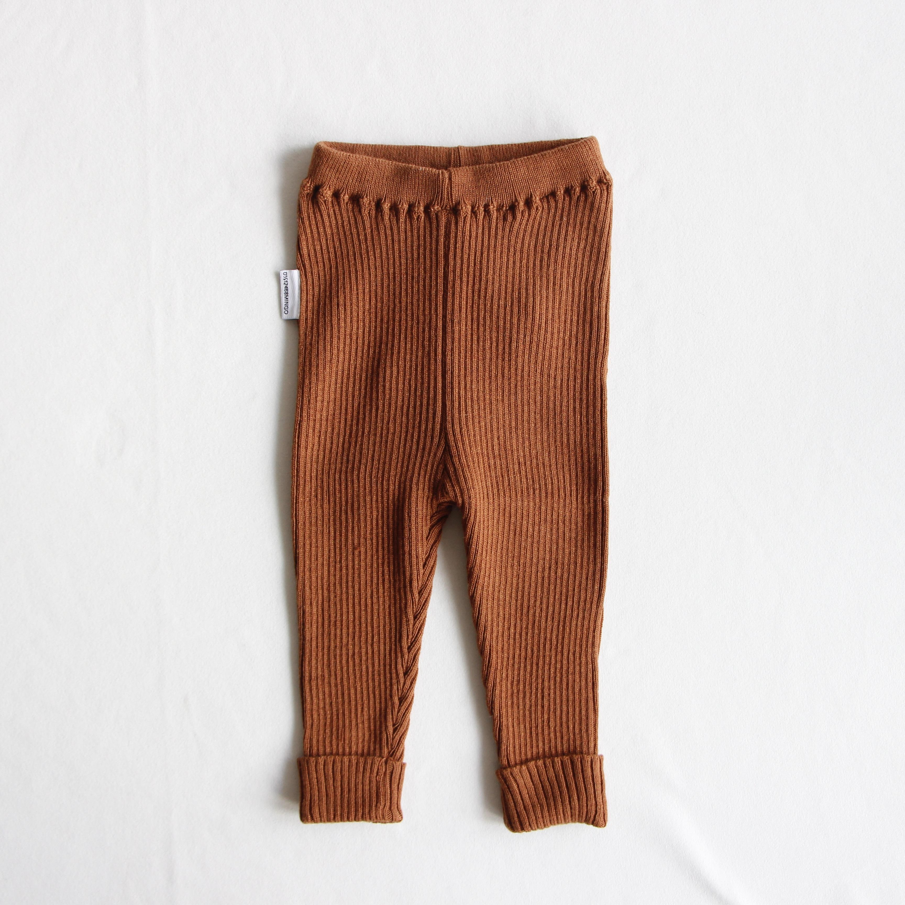 《MINGO. 2020AW》Baby Pants / Pecan