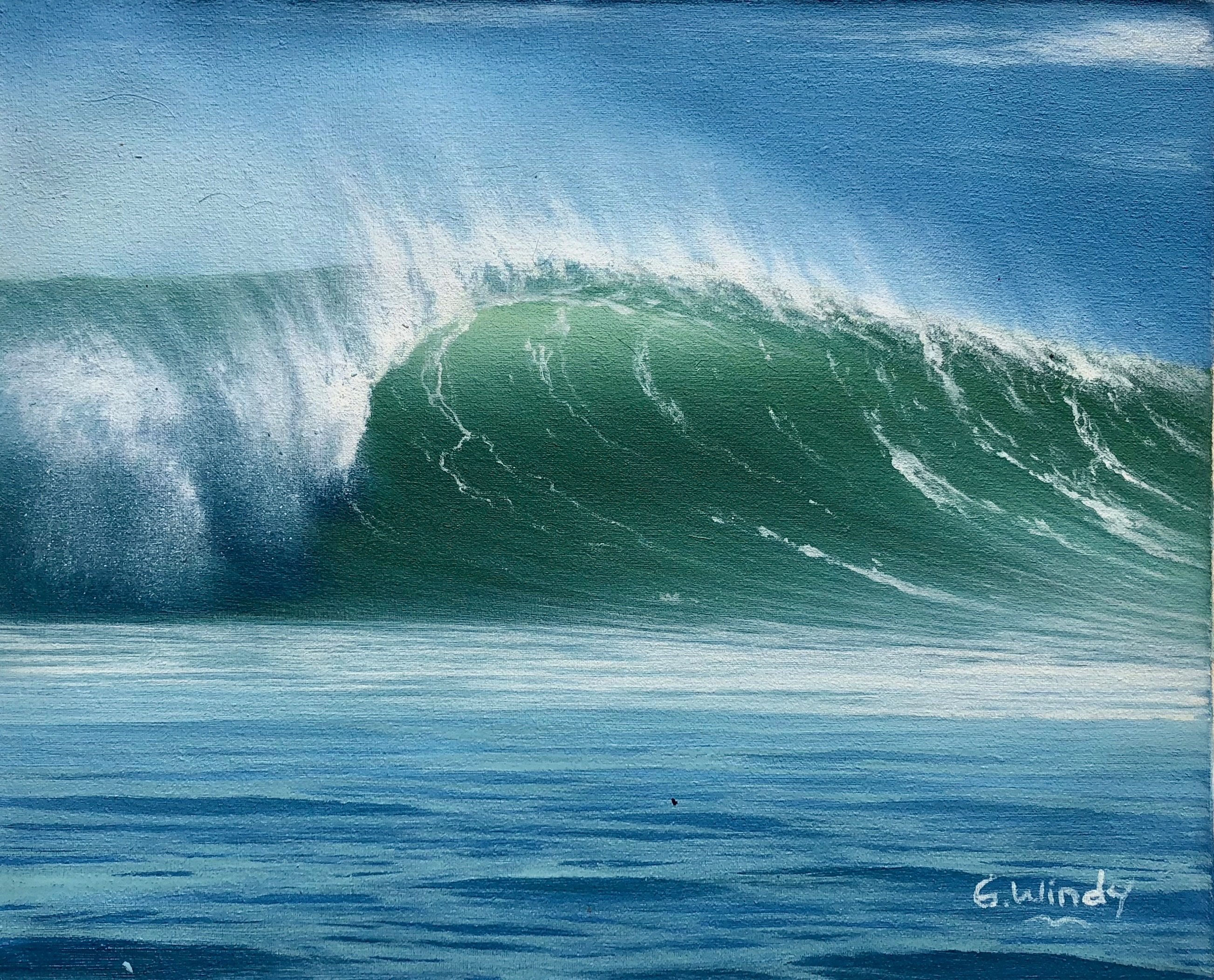 Dreamland Wave Art F3