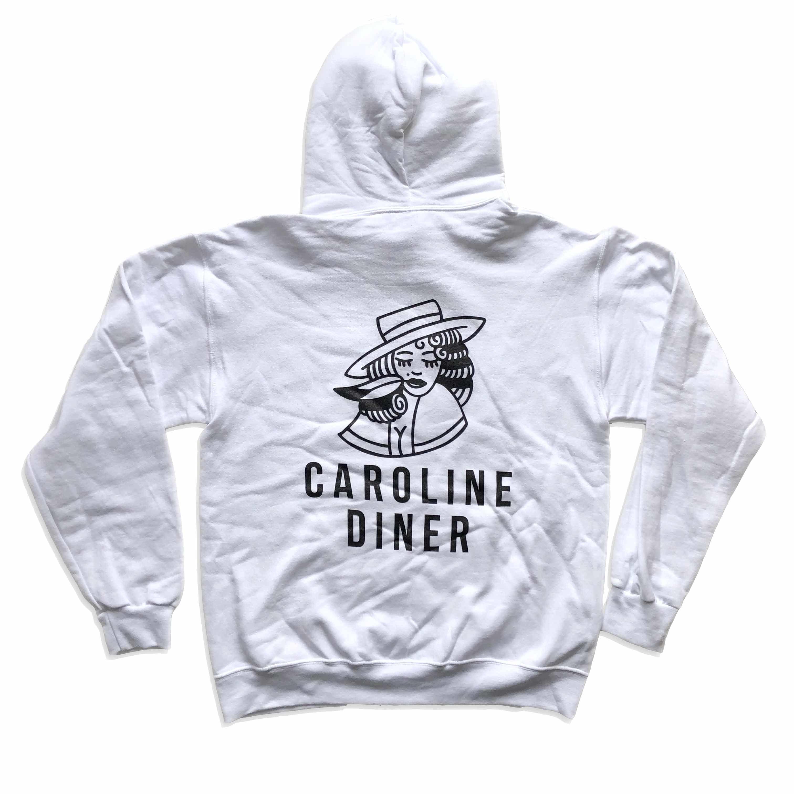 CAROLINE HOODIE( white)