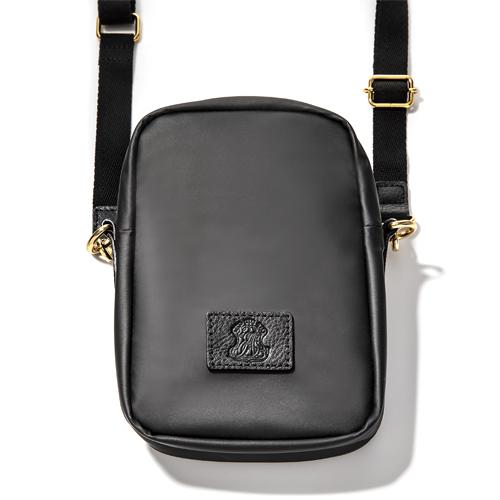 EMILYSSA SW CROSSBODY BAG Lサイズ /Black × Black(ブラック × ブラック)