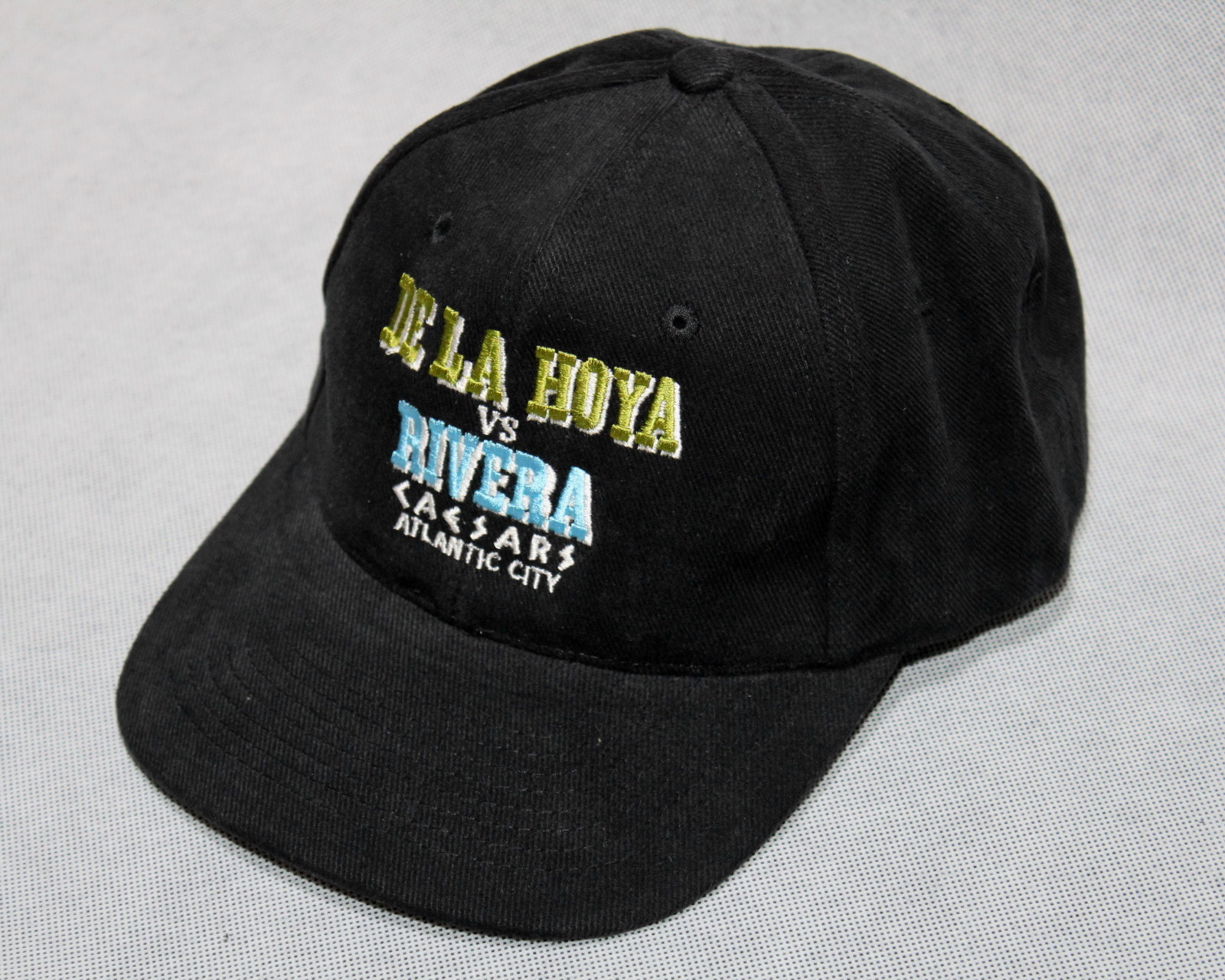 【DEADSTOCK!】Oscar De La Hoya (オスカー・デ・ラ・ホーヤ) vs Wilfredo Rivera (ウィルフレド・リベラ) ベースボールキャップ | ironfist