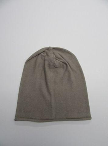 【送料無料】こころが軽くなるニット帽子amuamu|新潟の老舗ニットメーカーが考案した抗がん治療中の脱毛ストレスを軽減する機能性と豊富なデザイン NB-6060|空五倍子色(うつぶしいろ) - 画像1