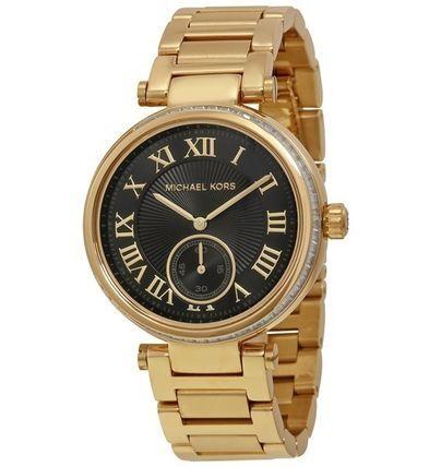 Michael Kors【人気のゴールドxブラック】腕時計 MK5989