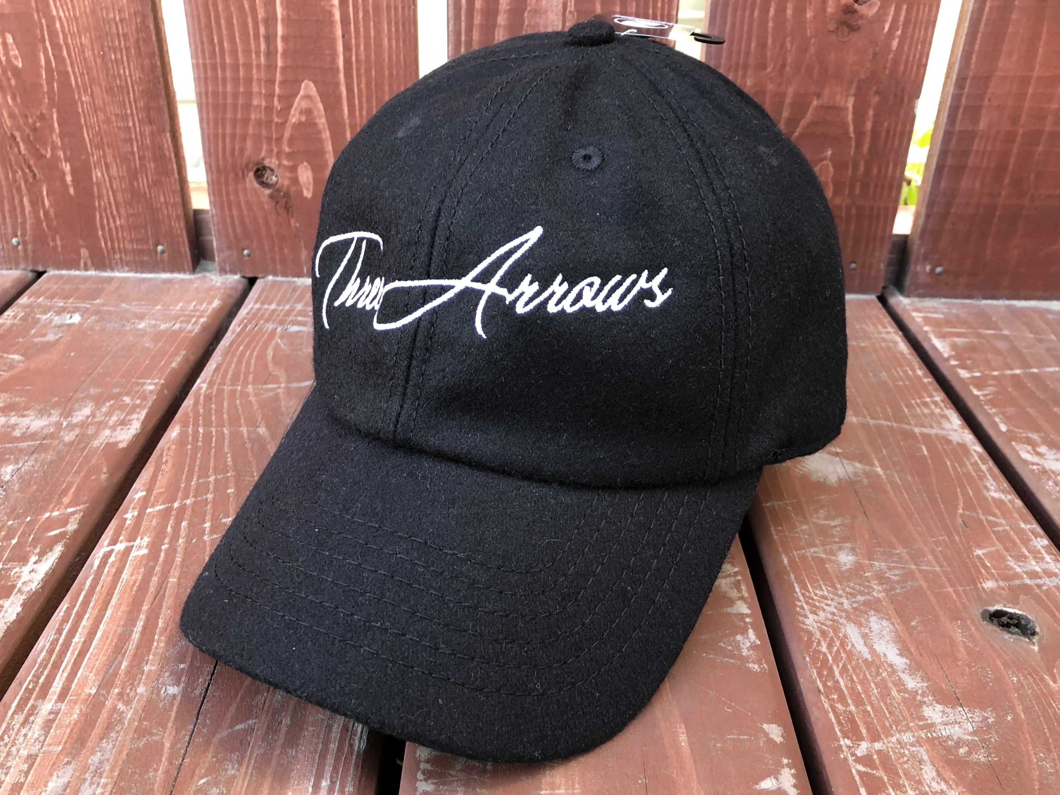 ThreeArrows Wool CAP(black)