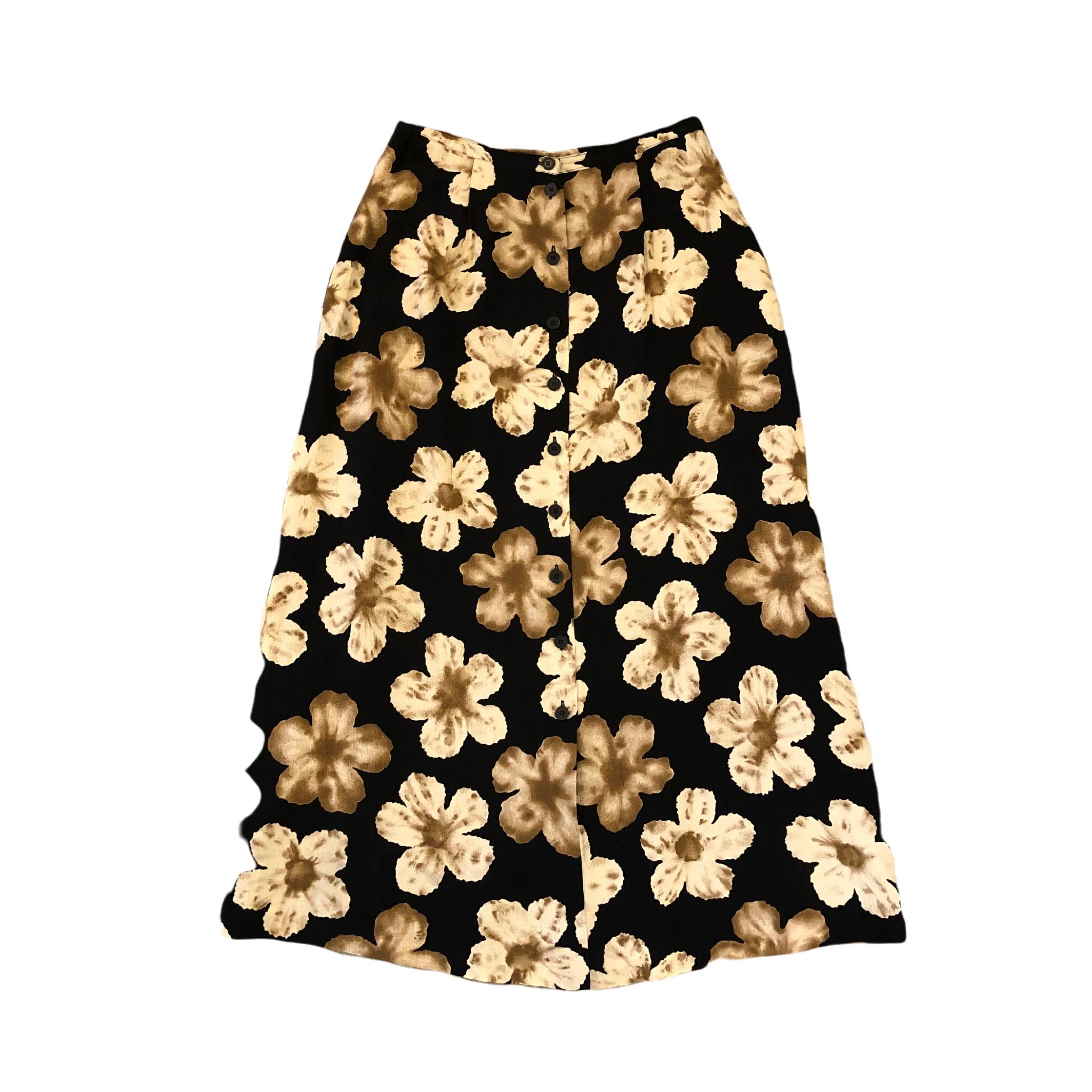 Chaus Floral Long Skirt ¥5,000+tax