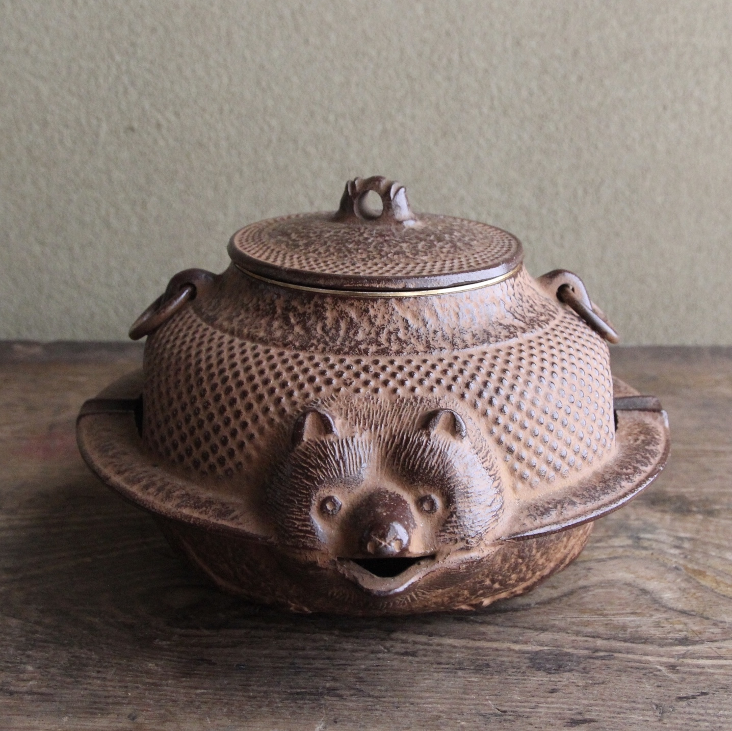 南部鉄器 分福茶釜の灰皿