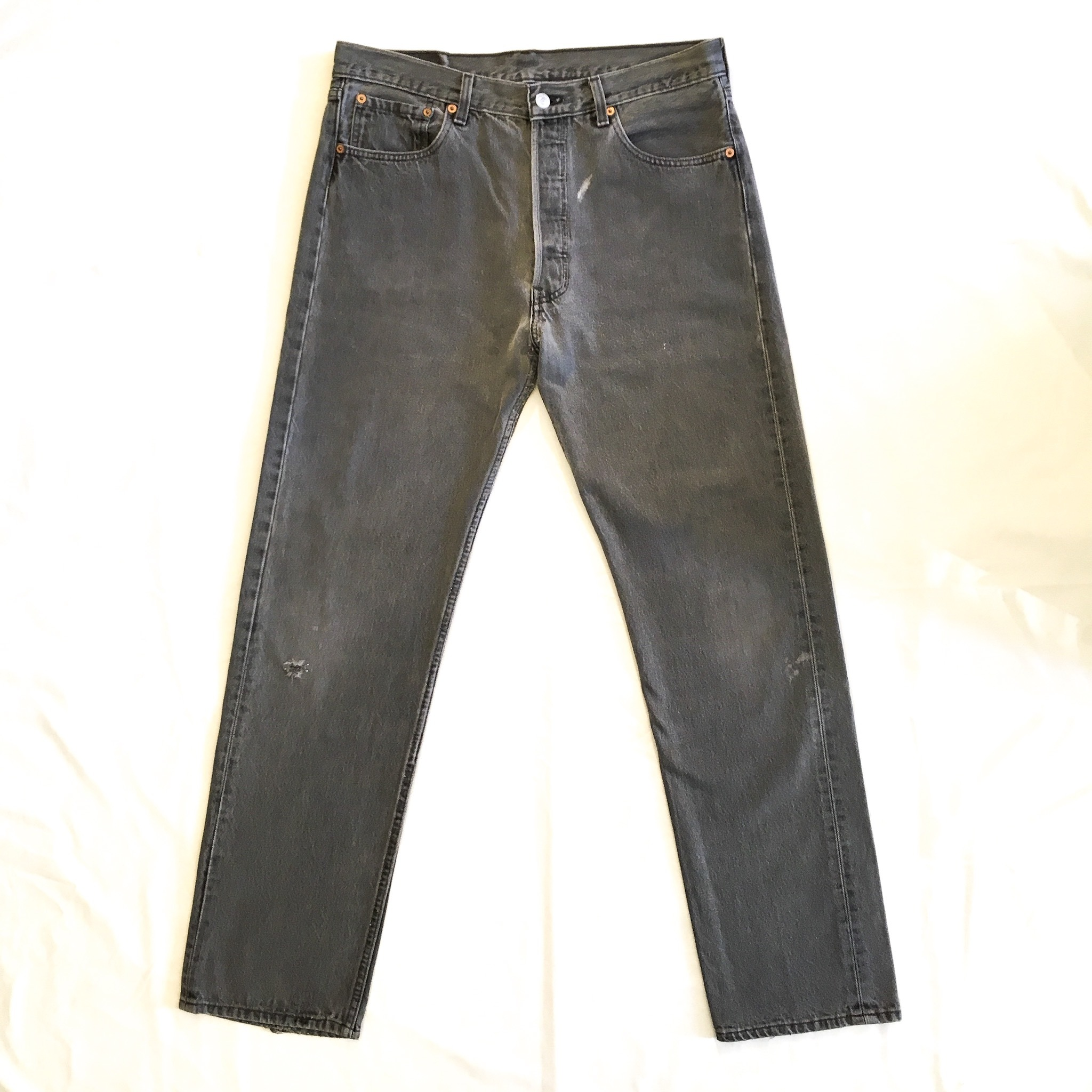 "90's Levi's 501 BLACK  W34 ""MADE IN USA"" <Used>"