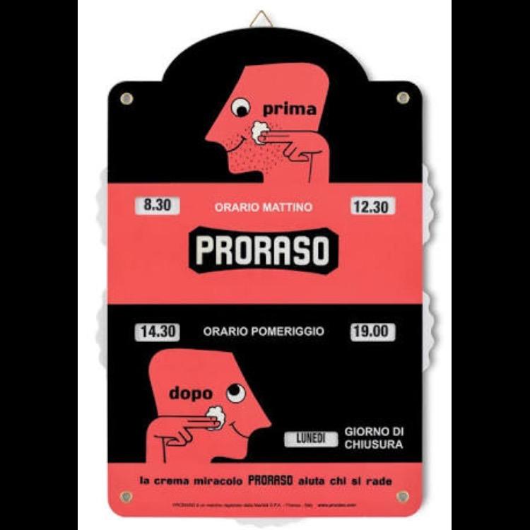 PRORASO オープン&クローズ サイン