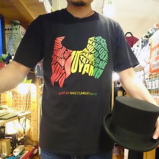 TOYAMA PREFECTURE Tシャツ 【富山県】 ラスタ