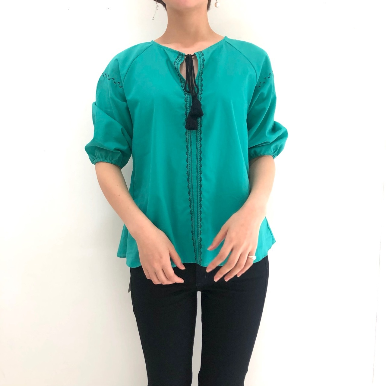 【 ROSIEE 】- R231802 - caftan blouse