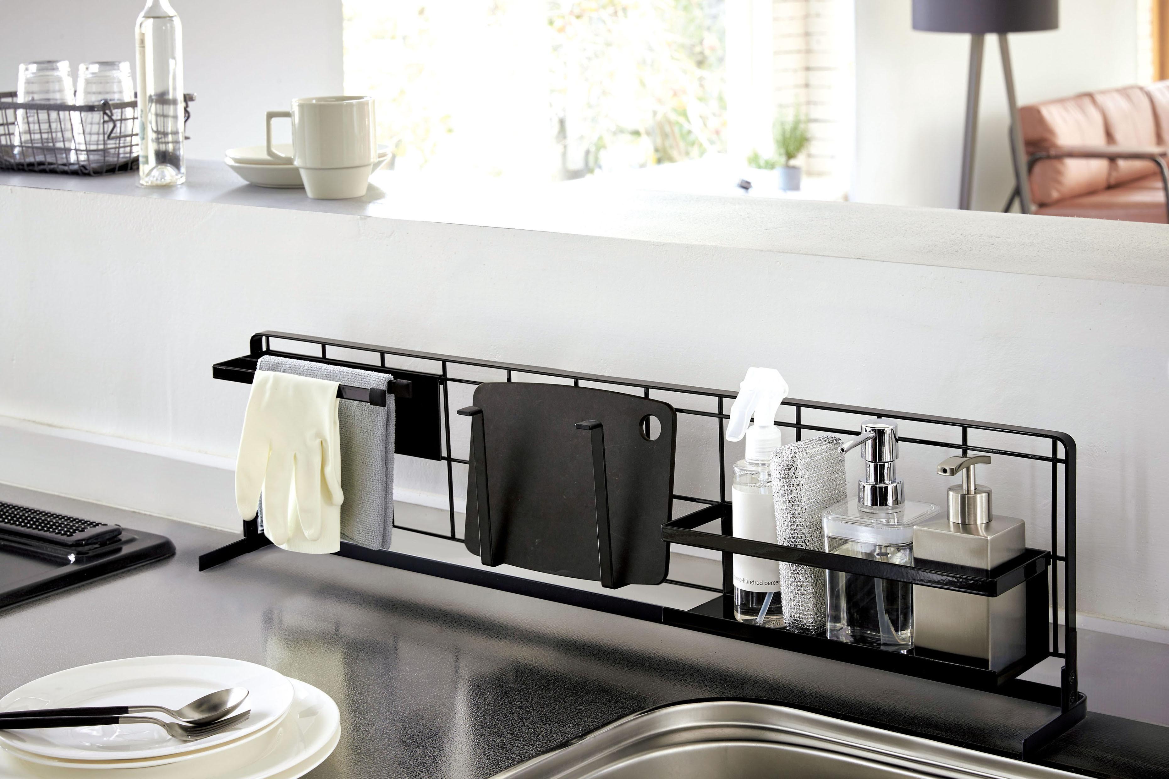 キッチンをスタイリッシュに!!キッチンメッシュパネル横型