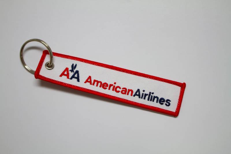 RemoveBeforeFlightキーホルダー アメリカン航空(旧ロゴ)