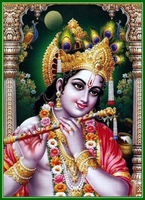 インドの神様 クリシュナ神 お守...