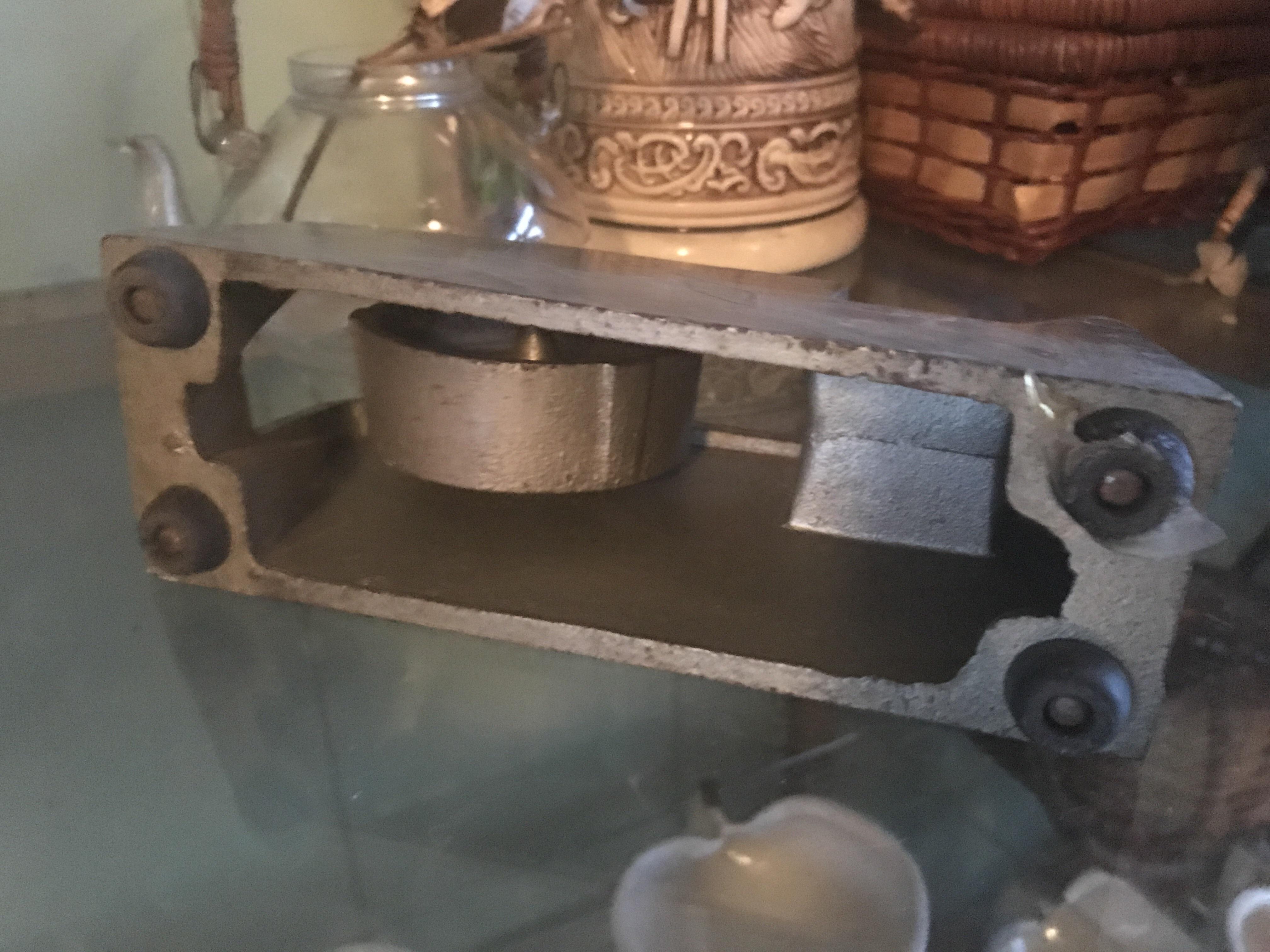 レトロ 鉄製のセロテープ台