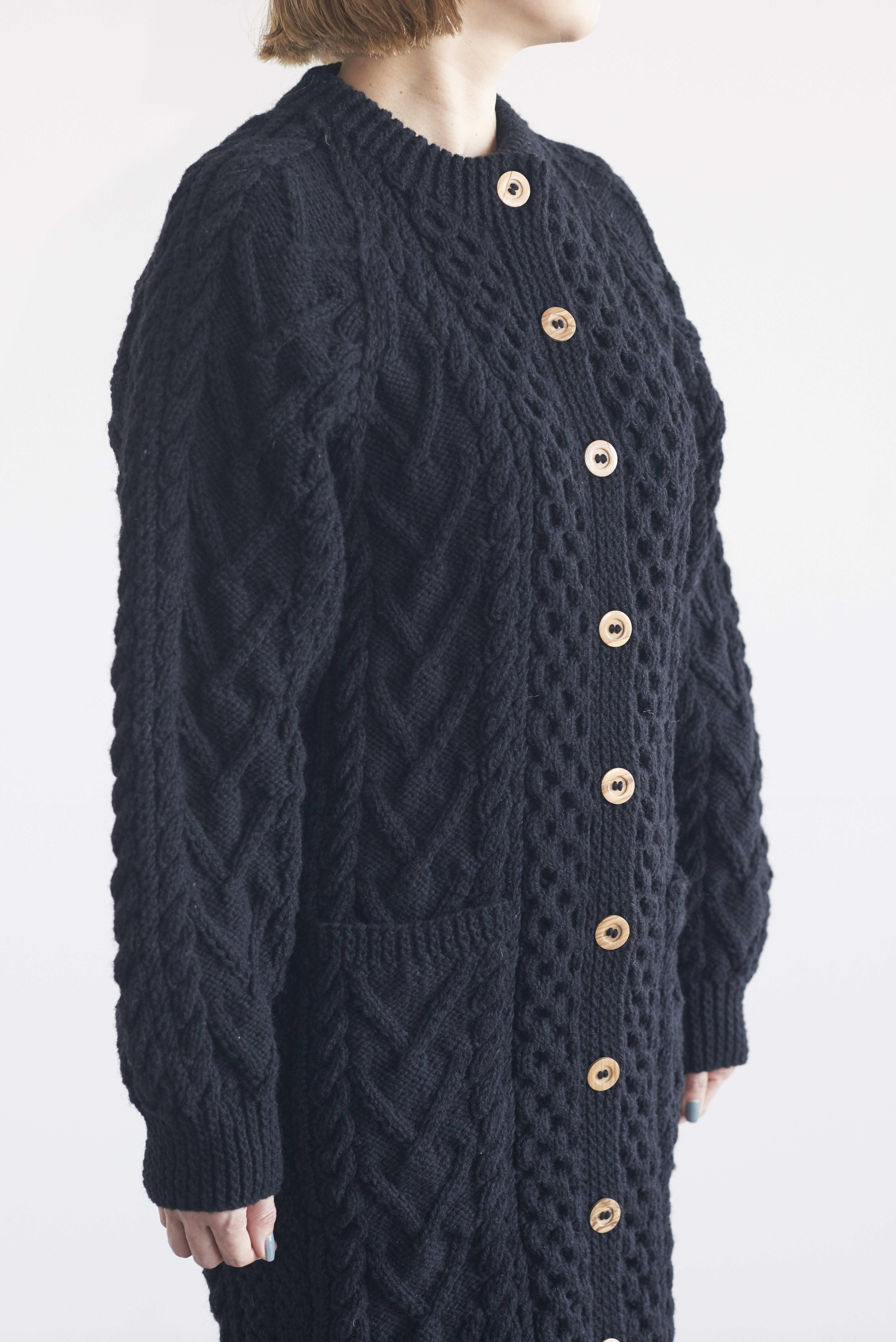 Athena Designs long aran coat