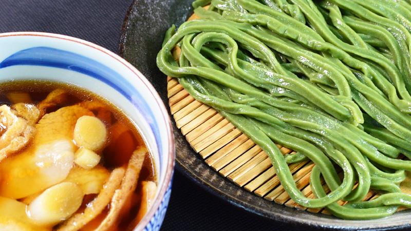 和風肉汁 (小松菜麺)4~8人前(800g)クール便 ★季節限定 もえぎ NM800 アレンジうどん