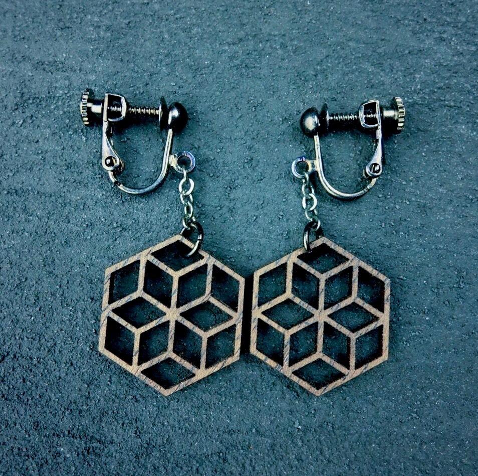 geometric earring EKP-WT
