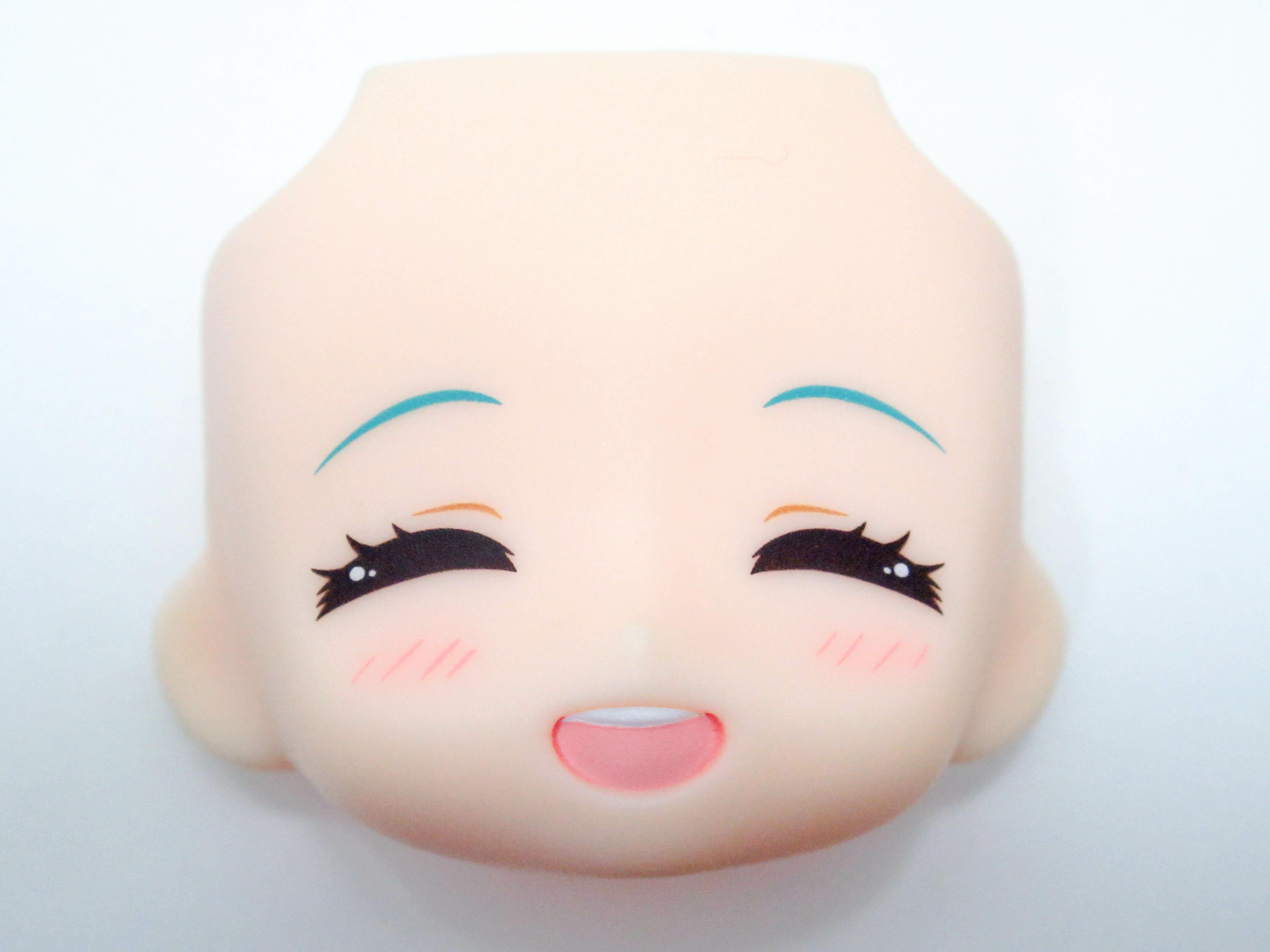 【785】 初音ミク マジカルミライ 5th Anniversary Ver. 顔パーツ 笑顔 ねんどろいど