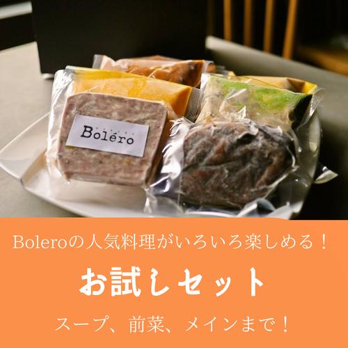 ボレロのお試し詰合せセット(人気料理がいろいろ楽しめます)
