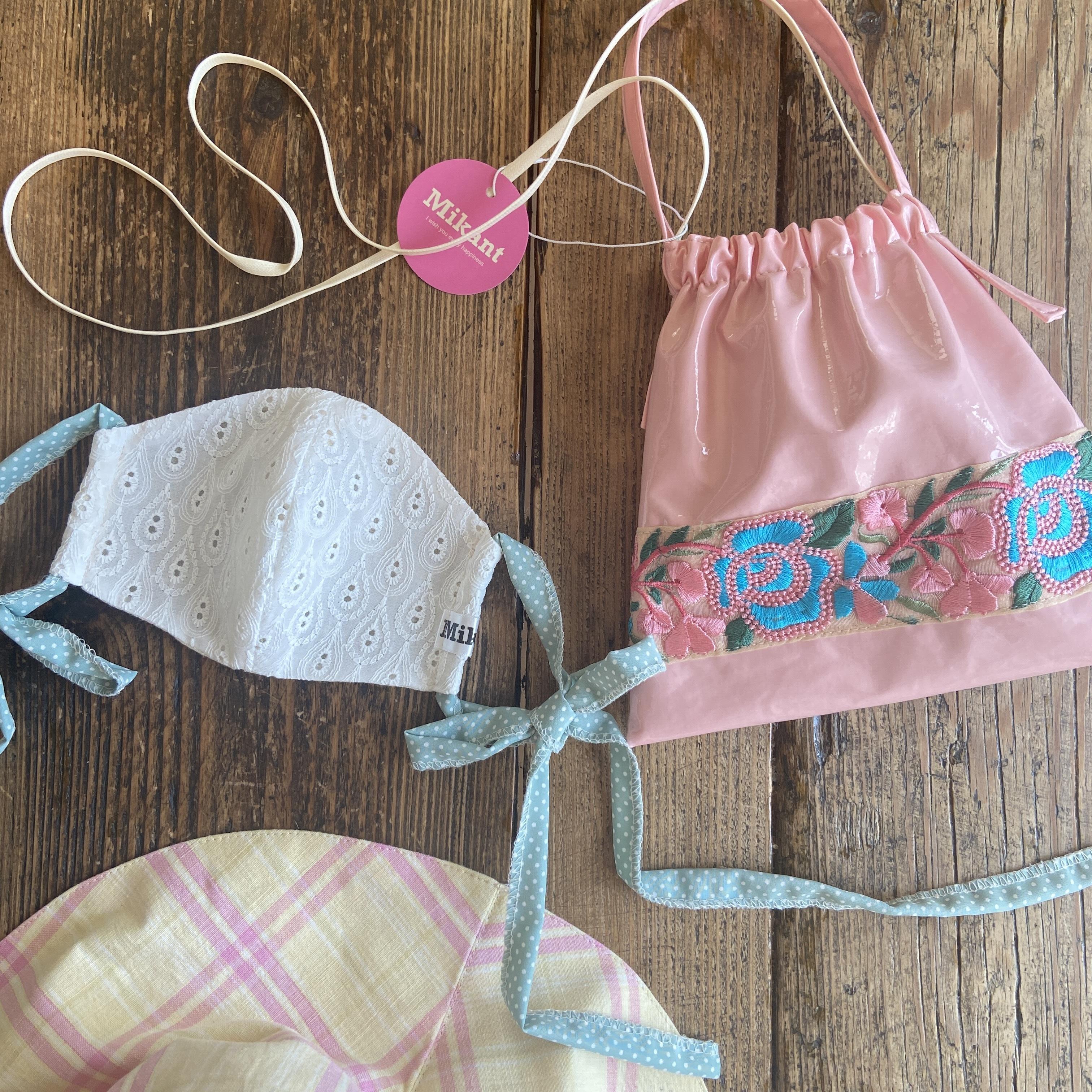 Lax micro Bag お花刺繍