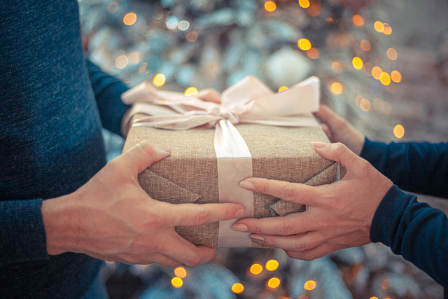 ジェラートはプレゼントに最適♪