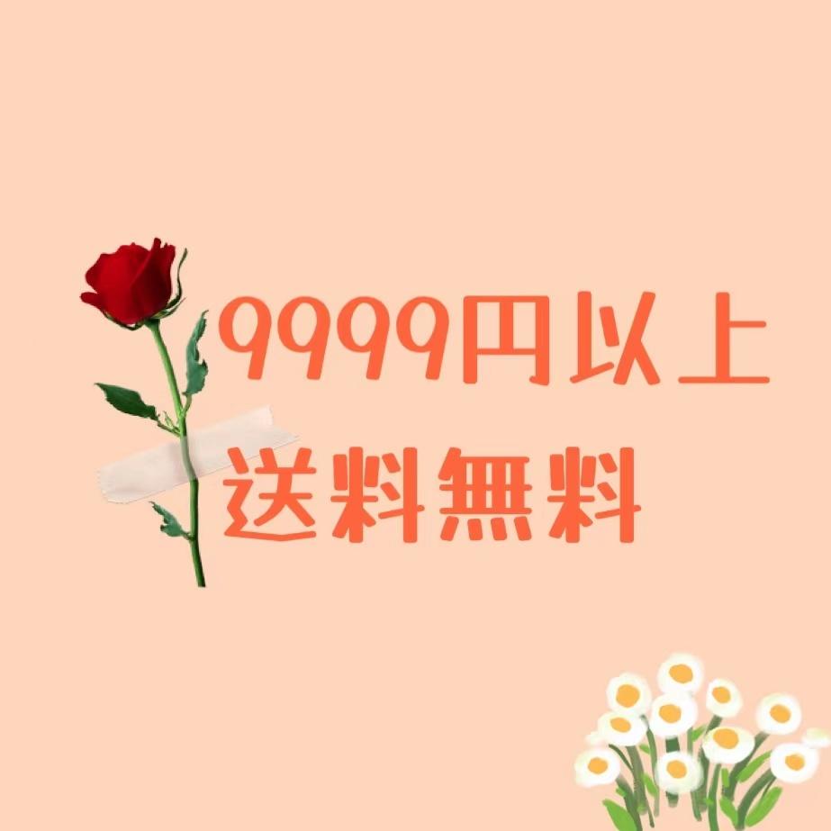 9999円以上送料無料