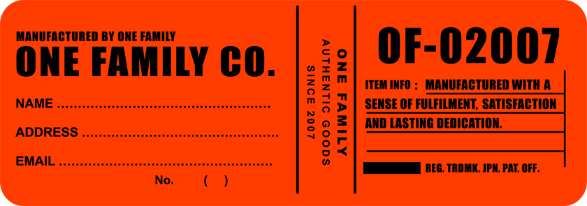 One Family Co. Online Shop