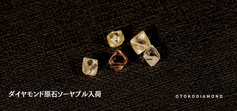ダイヤモンドの原石ソーヤブル