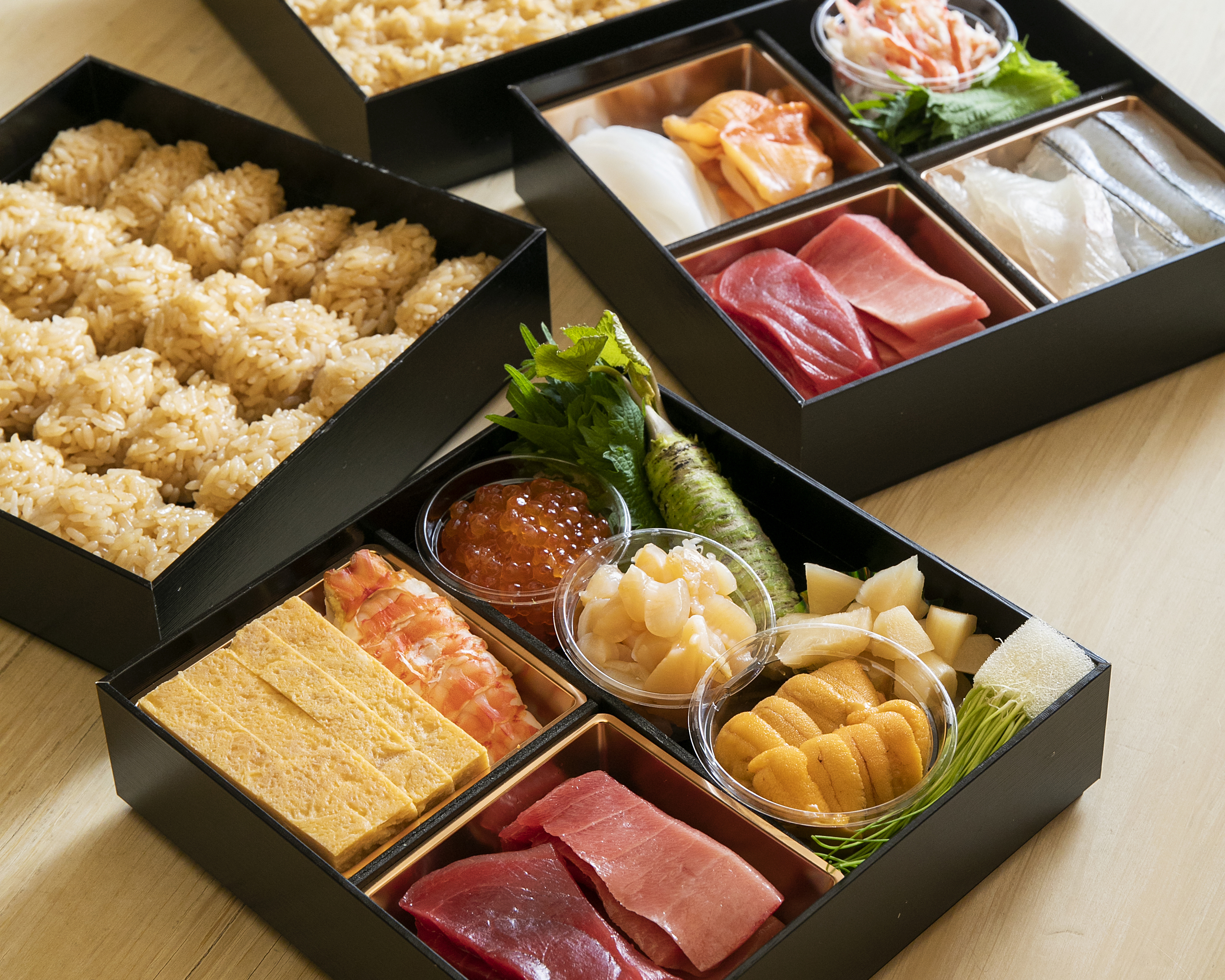 藍泉ご自宅用お寿司セット