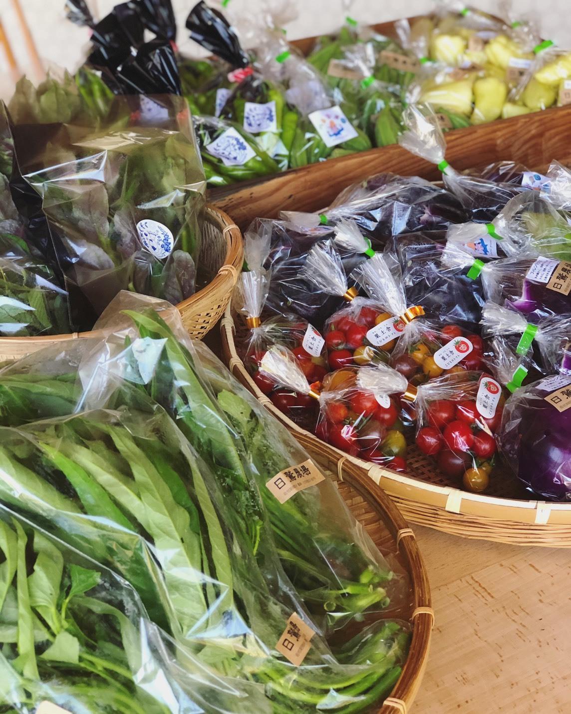 野菜直売、セレクト商品