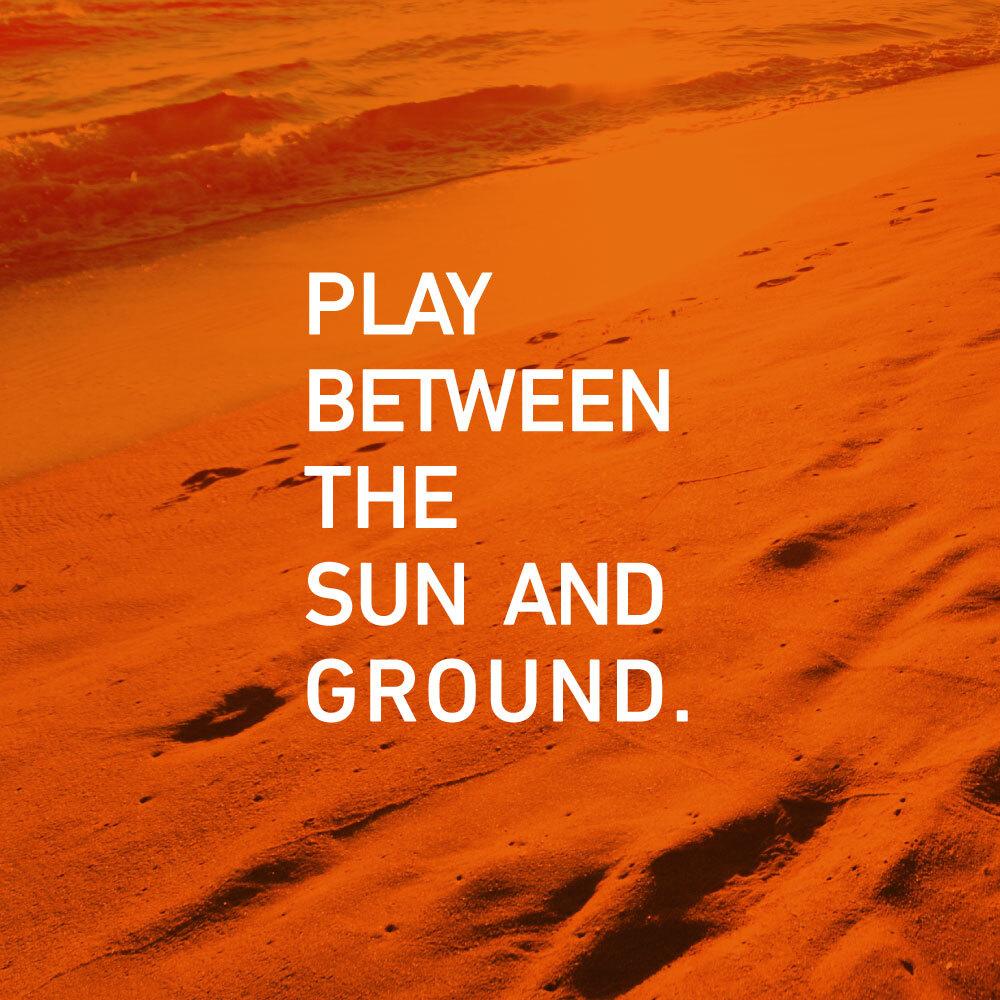 砂をもっと楽しもう!