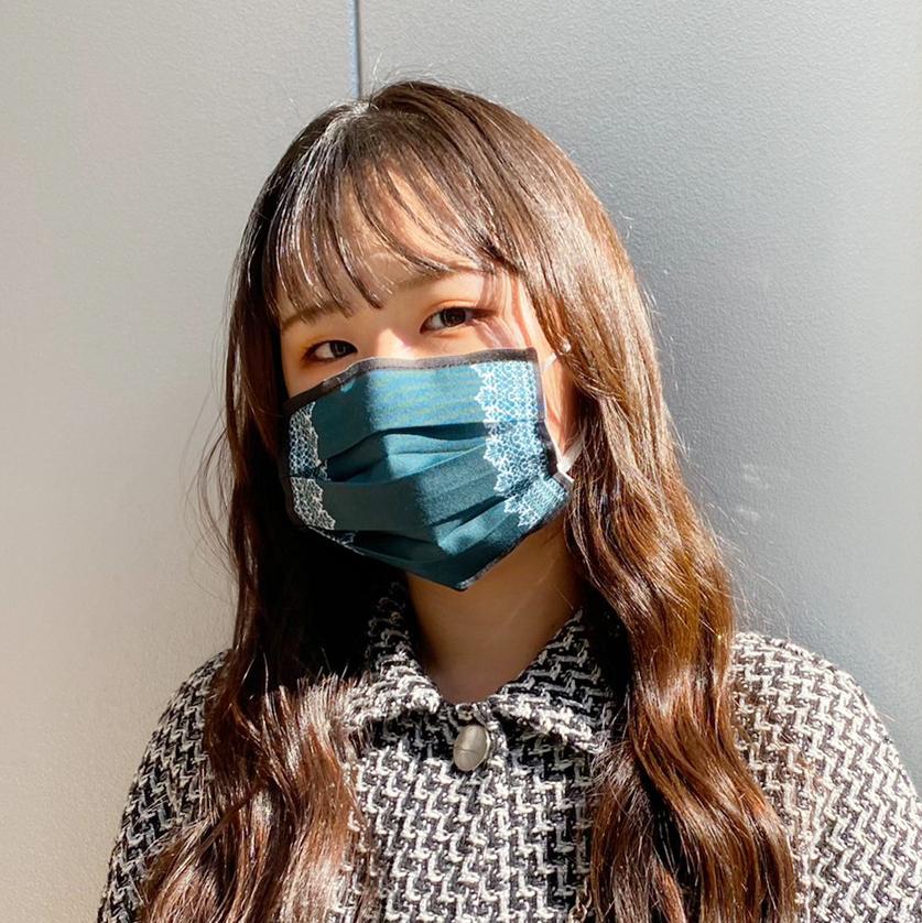 【アップマークサム】いつものマスク姿がオシャレに変身!マスクカバー naamio&クレンゼガーゼマスク(一般サイズ)セット