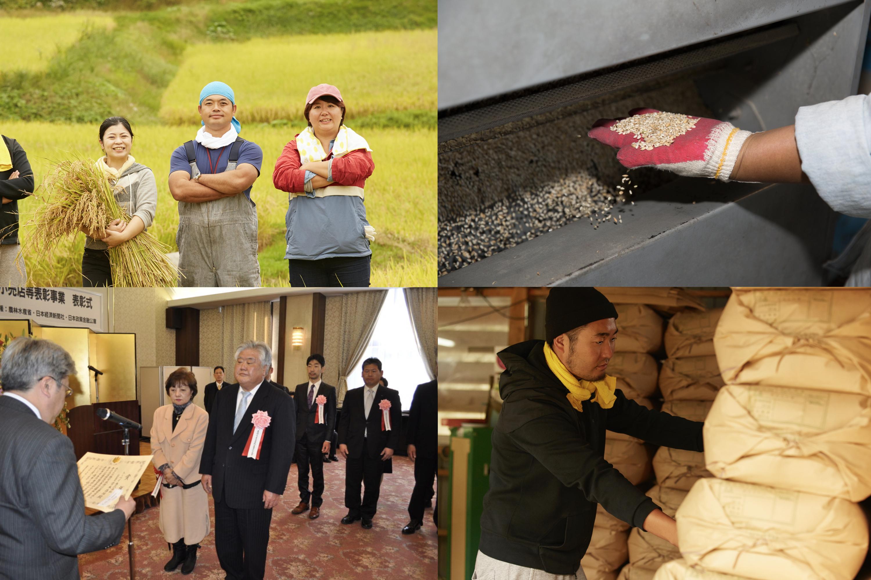お米のプロの徹底した品質管理で食の安全を守っています