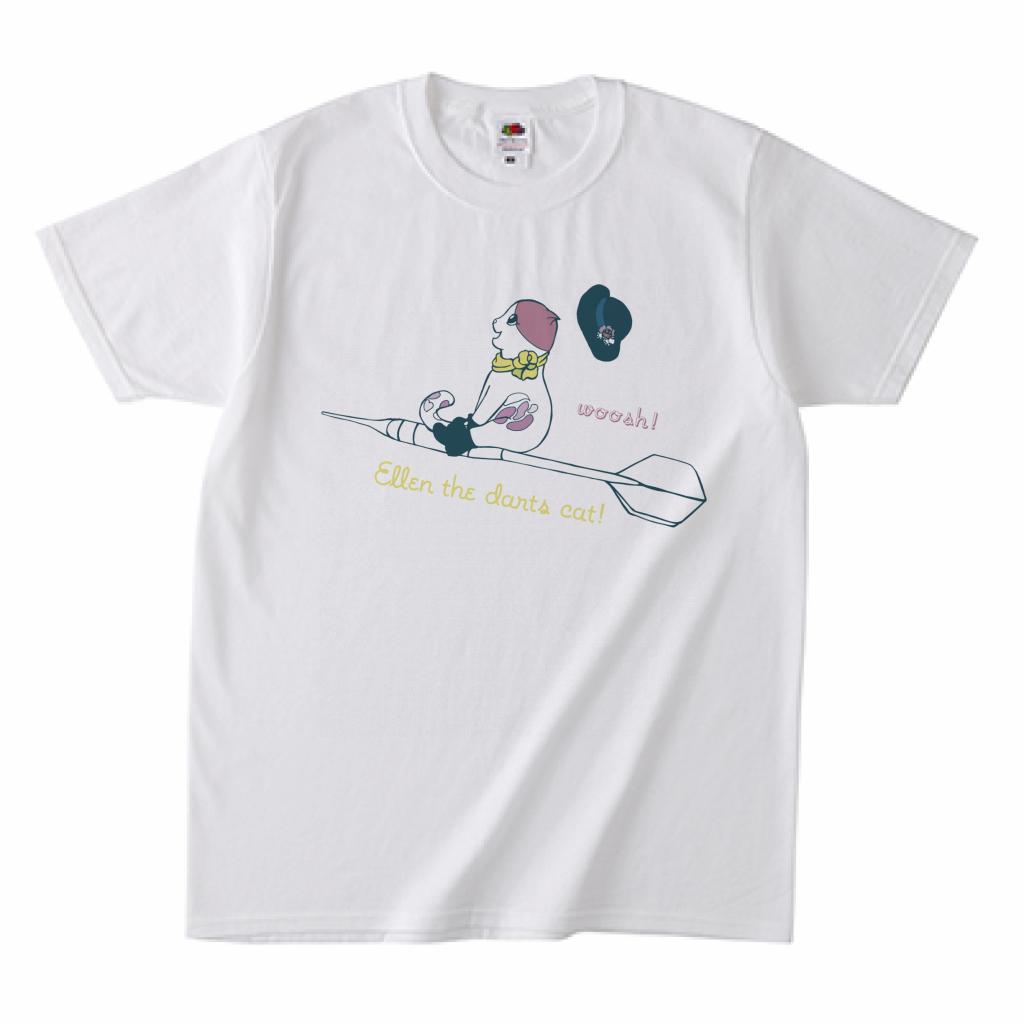 ダーツデザインTシャツ(エレンちゃん)