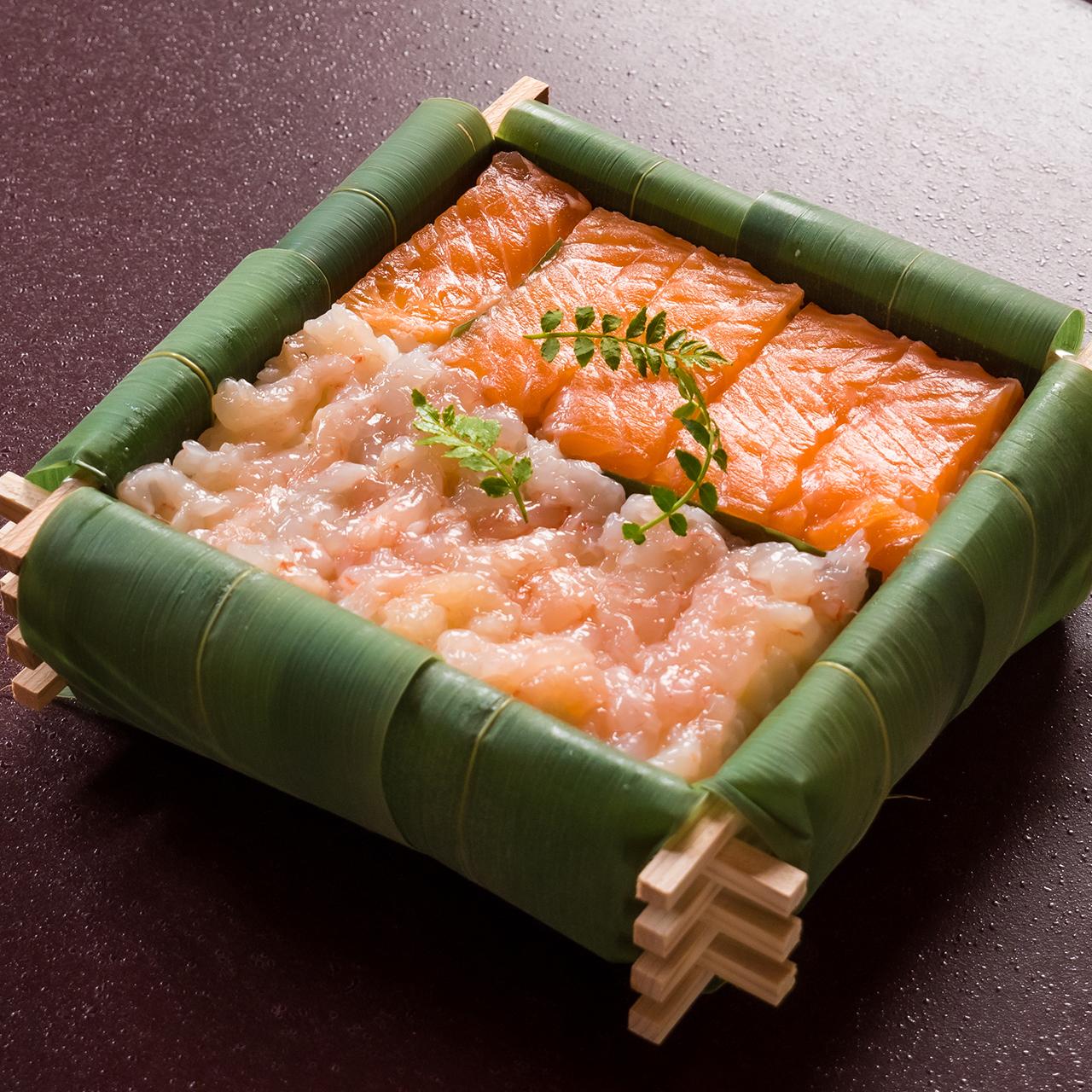 【ちちり鮨】海老・鱒