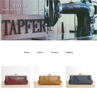 TAPFER Handcrafted leather products